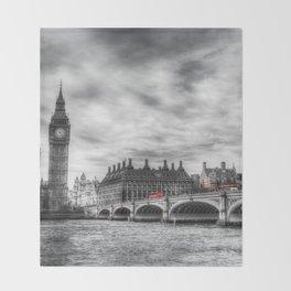 Westminster Bridge London Throw Blanket