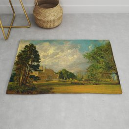 "John Constable ""Malvern Hall, Warwickshire"" Rug"
