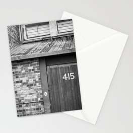 grunge door Stationery Cards