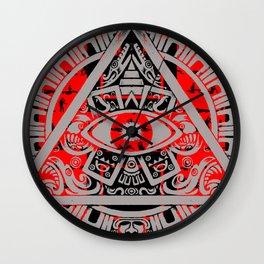 Eye of Horus 2 Wall Clock
