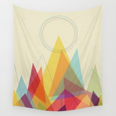 Holy Mountain Wall Tapestry