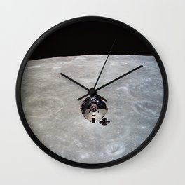 Apollo 10 - Far Side Of The Moon Wall Clock