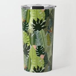 Green On Pattern Travel Mug