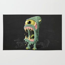 Meltmouth the Monster Rug