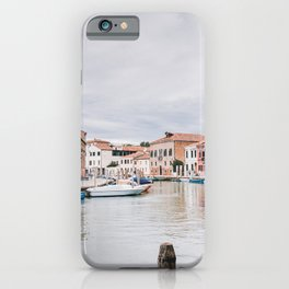 Murano Italy Venice | travel photography | glass island iPhone Case