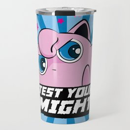 Jigglypuff chooses you! Travel Mug