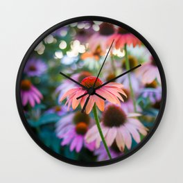 Growing Freely Wall Clock