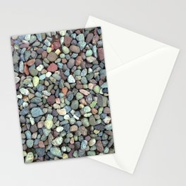 Rocks on Ground Color Photo Stationery Cards