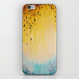 MYSTIC GARDEN Lovely Fairy Land Abstract Painting Acrylic Fine Art Winter Colorful Fantasy Magical iPhone Skin