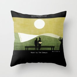 """Baku"" illustration Toni Demuro Throw Pillow"