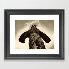 Colossus Framed Art Print