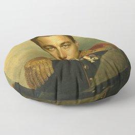 Leonardo Dicaprio - replaceface Floor Pillow