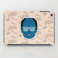 seinfeld iPad Cases featuring George Costanza - Seinfeld by Kuki