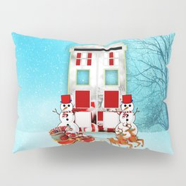 Tardis Santa Pillow Sham