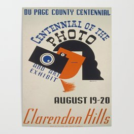 Vintage poster - Centennial of the Photo Poster