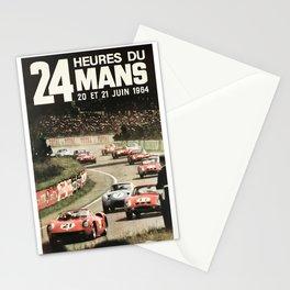 Le Mans 1964, Le Mans poster, Le Mans t shirt, Race poster, Stationery Cards