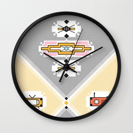 African print Wall Clock