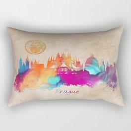 Praha skyline panorame Rectangular Pillow