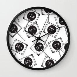 Sex Wall Clock