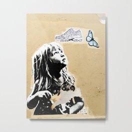 Le Rêve du Papillons Metal Print