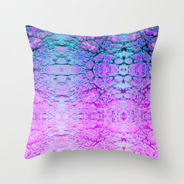 Melted Wizard Throw Pillow