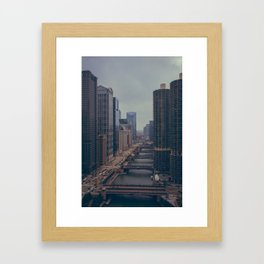 Marina City Framed Art Print