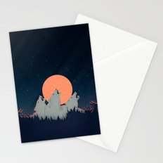 Howling Moon Stationery Cards