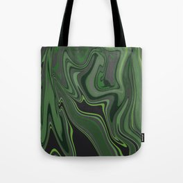 Distorted stripes in colour 1 Tote Bag