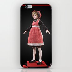 Red bonnet iPhone & iPod Skin