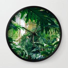 Greenery Jungle (Color) Wall Clock