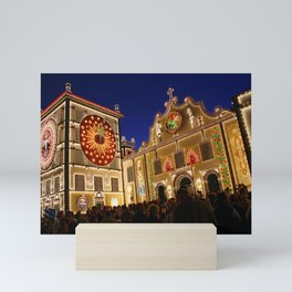 Nighttime religious celebrations Mini Art Print