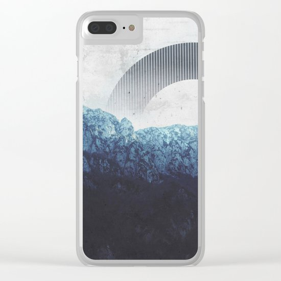 Through the Mountains Clear iPhone Case