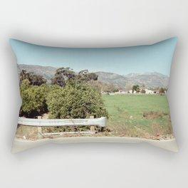 Where Roads Meet Rectangular Pillow