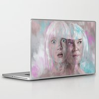 amy sia Laptop & iPad Skins featuring Sia - Maddie by firatbilal