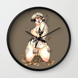Inky Cap Wall Clock