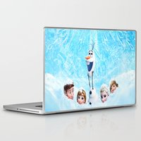 olaf Laptop & iPad Skins featuring FROZEN OLAF  by BESTIPHONE5CASESHOP