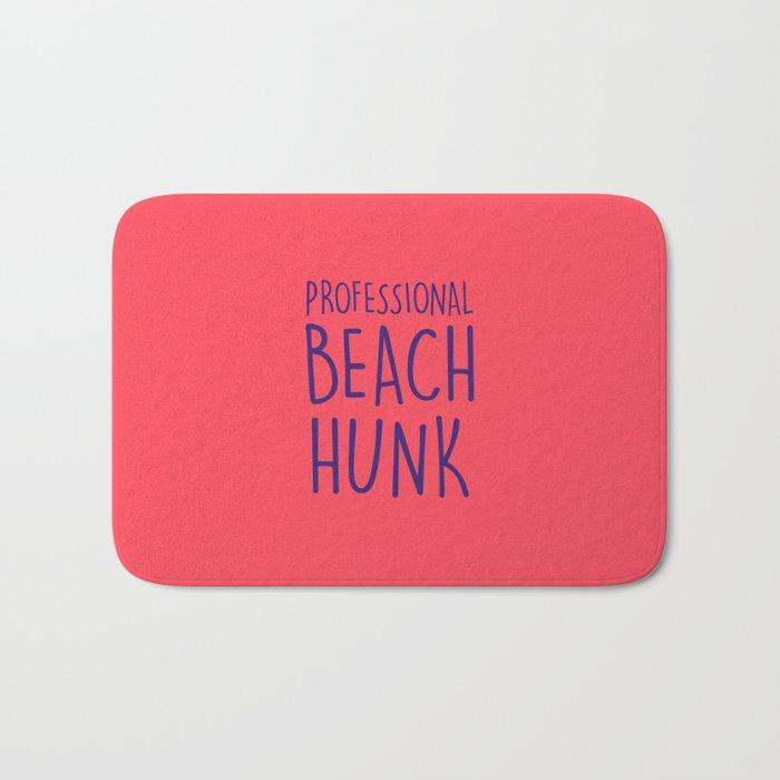 PROFESSIONAL BEACH HUNK Bath Mat