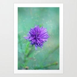 Fantasy Garden - Lilac Beauty Art Print