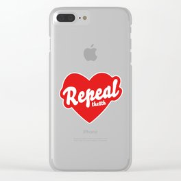 REPEAL THE 8TH Clear iPhone Case