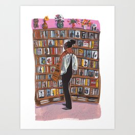 Marcus Bookstore  Art Print