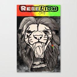 RebeLion Rises Canvas Print
