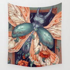 Moth Beetle Wall Tapestry