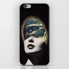 World in your mind iPhone Skin