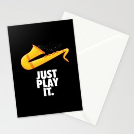 Just Play It Stationery Cards