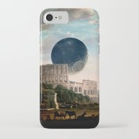 death star iPhone & iPod Cases featuring Death Star by DIVIDUS