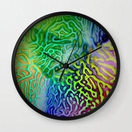 My colored fantasy ... Wall Clock