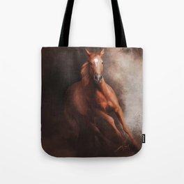 Quarter Horse (Digital Drawing) Tote Bag