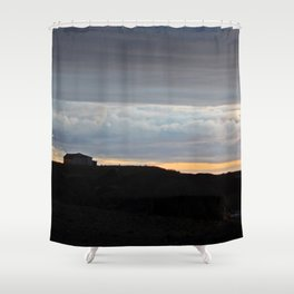 The Edge of Land Shower Curtain