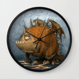 Marshmellow the Dragon Wall Clock