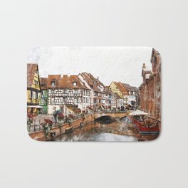 Colmar France Bath Mat